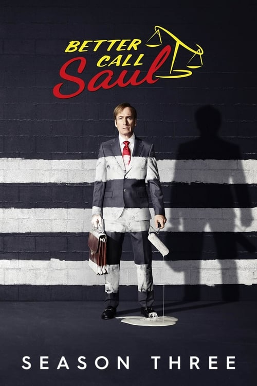 Cover of the Season 3 of Better Call Saul