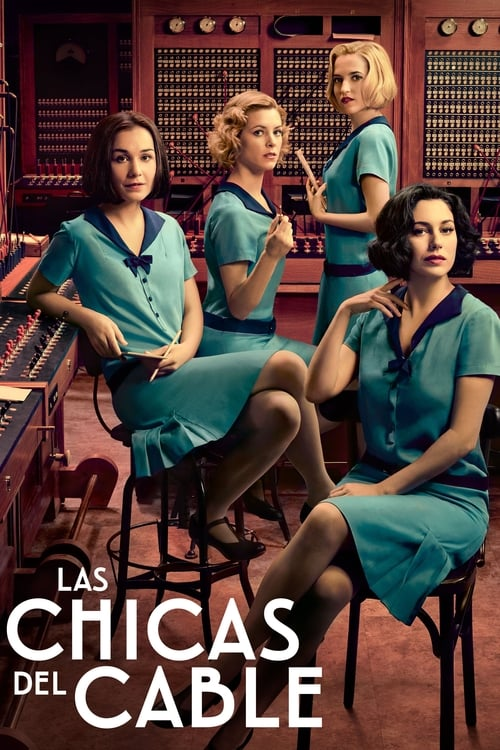 Cover of the Season 1 of Cable Girls