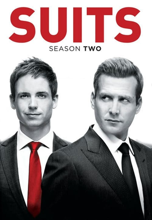 Cover of the Season 2 of Suits