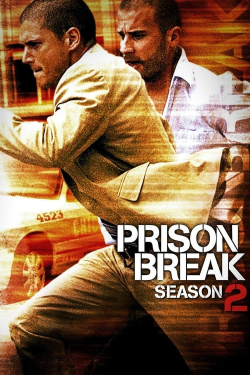 Cover of the Season 2 of Prison Break