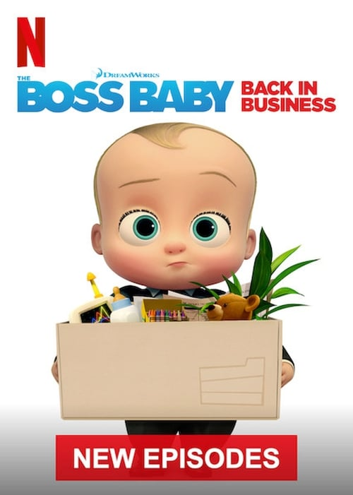 Cover of the Season 3 of The Boss Baby: Back in Business