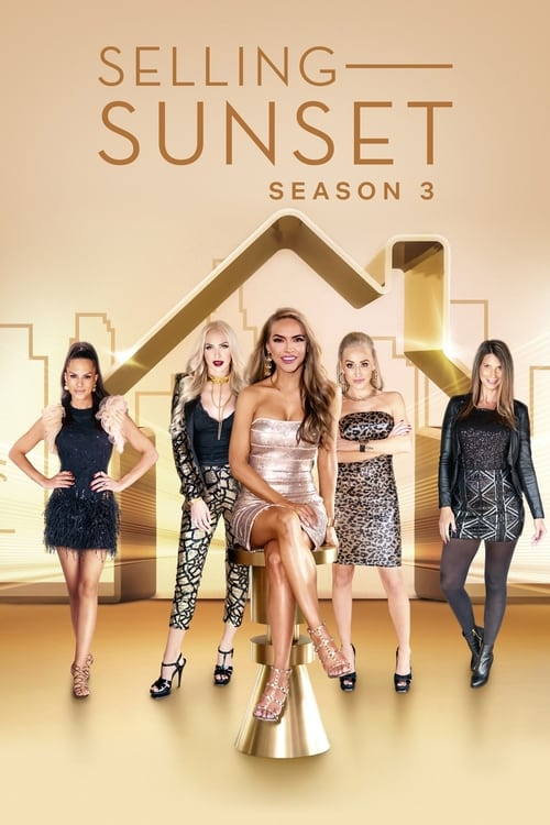 Cover of the Season 3 of Selling Sunset