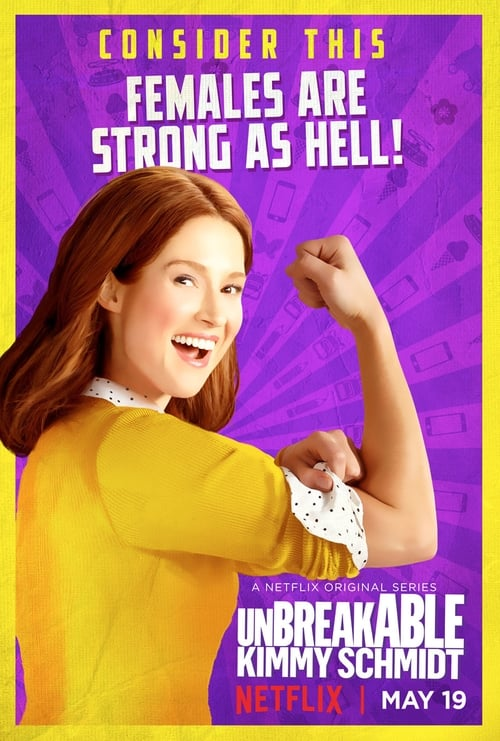 Cover of the Season 3 of Unbreakable Kimmy Schmidt