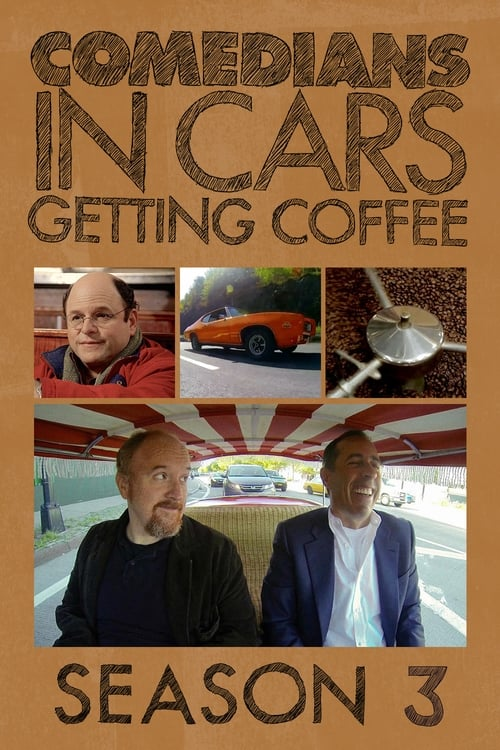 Cover of the Season 3 of Comedians in Cars Getting Coffee
