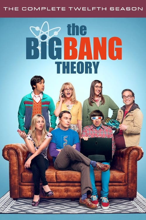 Cover of the Season 12 of The Big Bang Theory