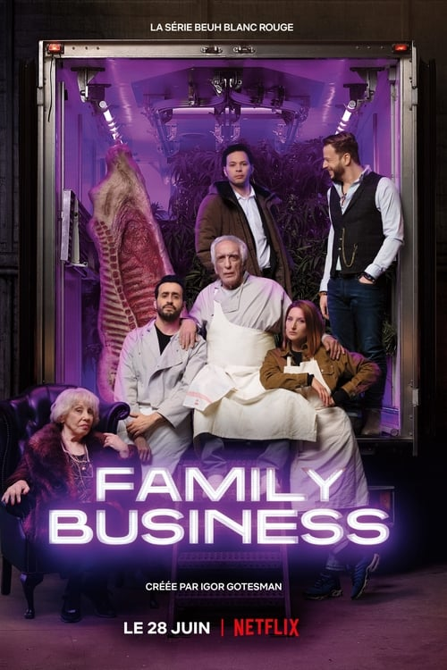 Cover of the Season 1 of Family Business