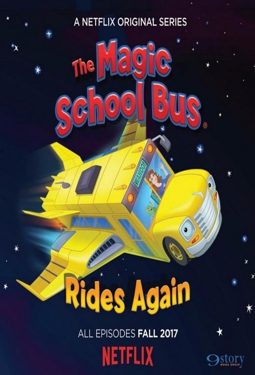 Cover of the Season 1 of The Magic School Bus Rides Again