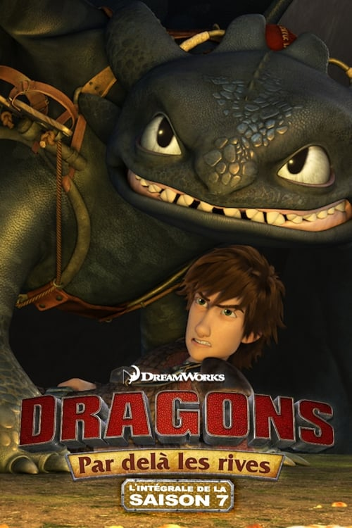 Cover of the Race to the Edge Pt. 5 of DreamWorks Dragons