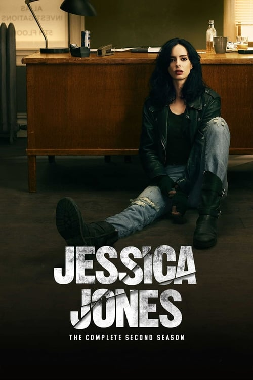 Cover of the Season 2 of Marvel's Jessica Jones