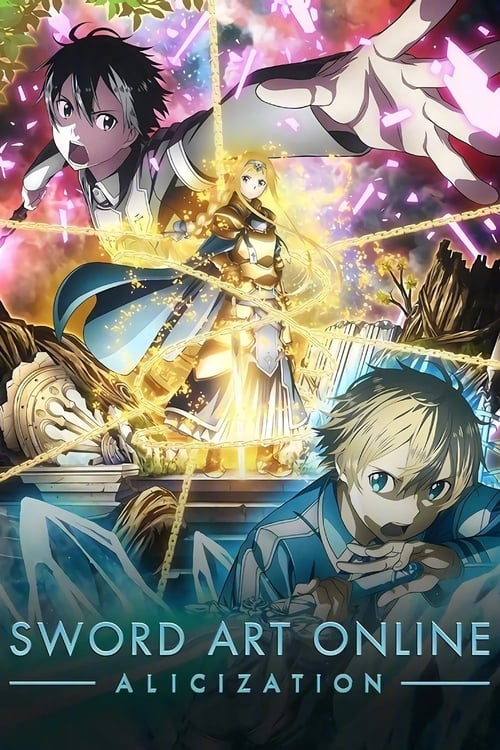 Cover of the Alicization of Sword Art Online