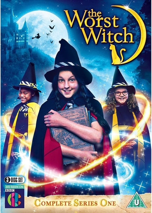 Cover of the Season 1 of The Worst Witch