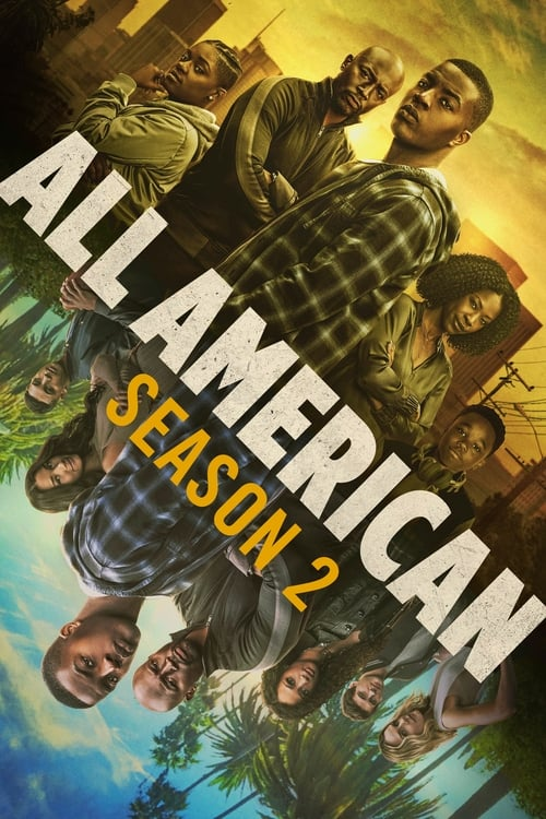 Cover of the Season 2 of All American
