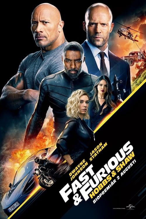 Poster för Fast & Furious: Hobbs & Shaw