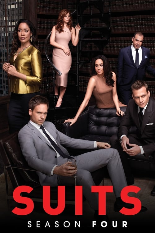 Cover of the Season 4 of Suits