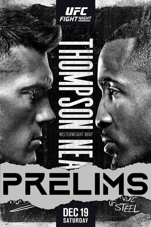 UFC Fight Night 183: Thompson vs. Neal - Prelims
