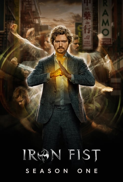 Cover of the Season 1 of Marvel's Iron Fist