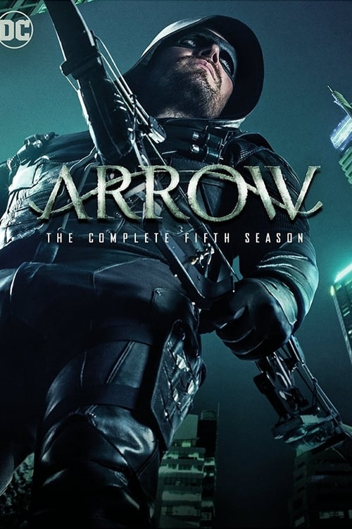 Cover of the Season 5 of Arrow