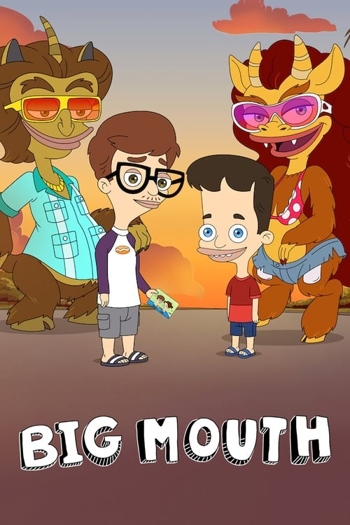 Cover of the Season 3 of Big Mouth