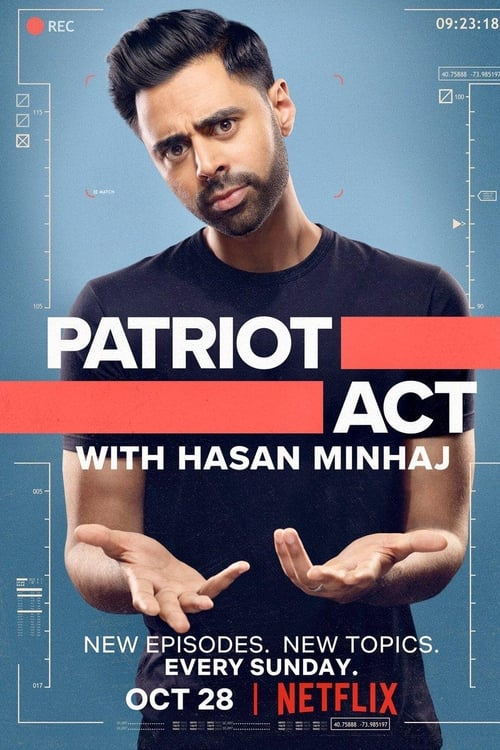 Cover of the Season 1 of Patriot Act with Hasan Minhaj