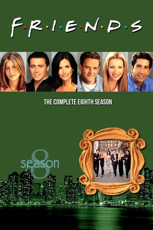 Cover of the Season 8 of Friends