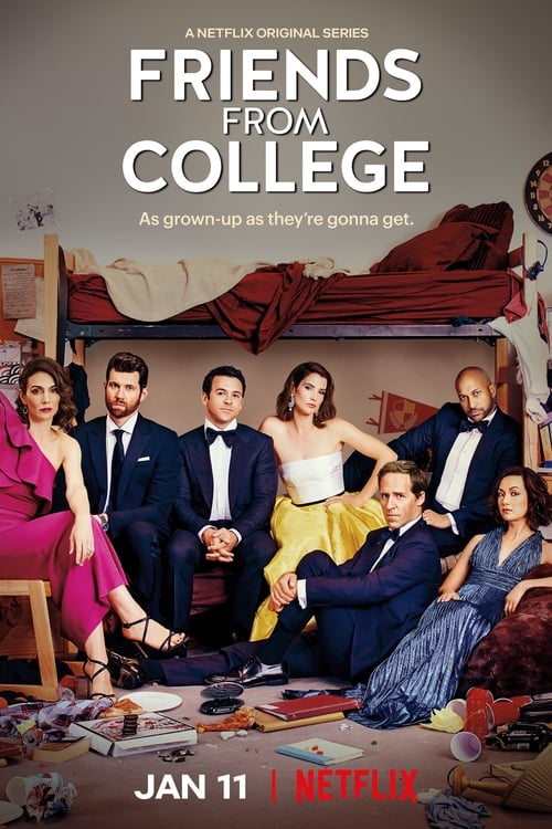 Cover of the Season 2 of Friends from College