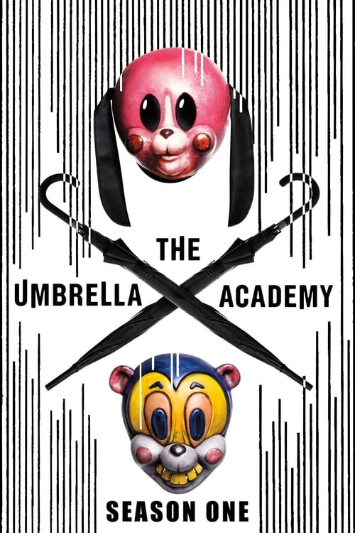 Cover of the Season 1 of The Umbrella Academy