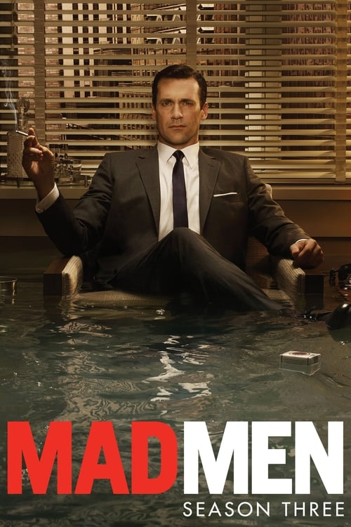 Cover of the Season 3 of Mad Men