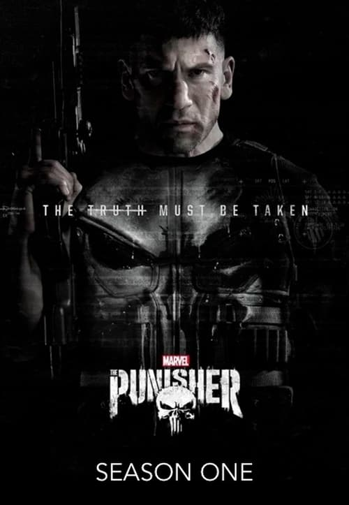 Cover of the Season 1 of Marvel's The Punisher