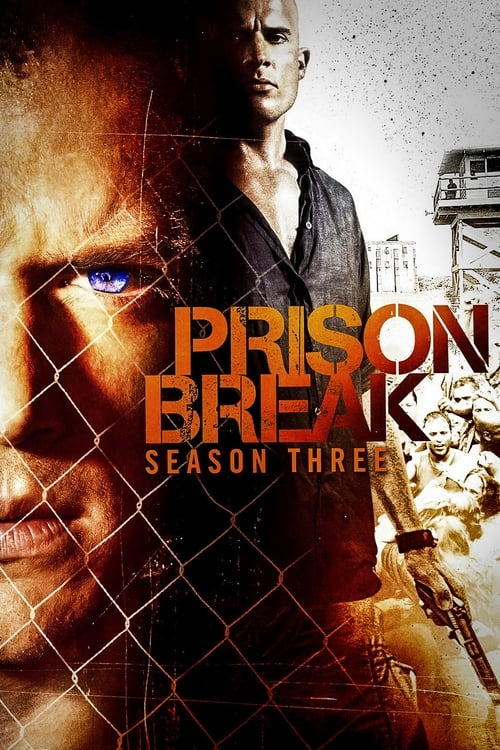 Cover of the Season 3 of Prison Break
