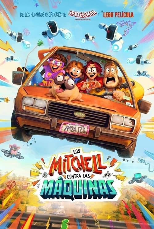 Los Mitchell contra las máquinas (2021) Repelisplus Ver Ahora Películas Online Gratis Completas en Español y Latino HD