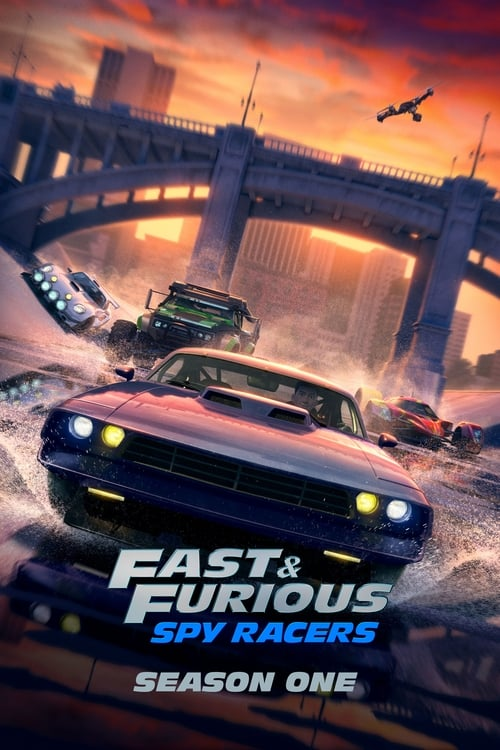 Cover of the Season 1 of Fast & Furious Spy Racers