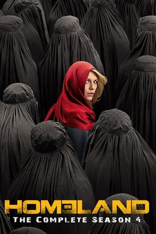 Cover of the Season 4 of Homeland