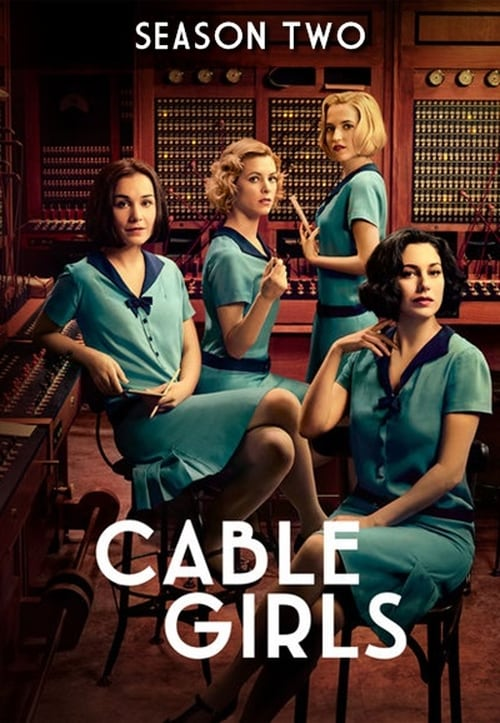 Cover of the Season 2 of Cable Girls