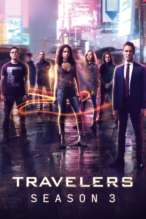 Cover of the Season 3 of Travelers