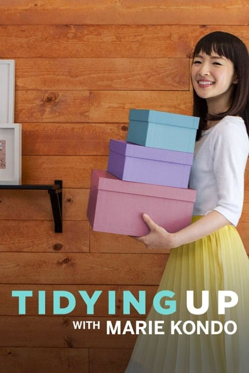 Cover of the Season 1 of Tidying Up with Marie Kondo