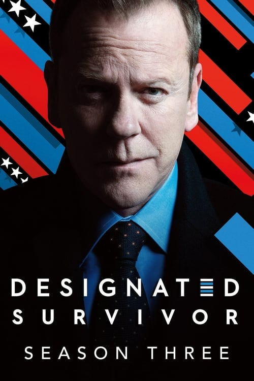 Cover of the Season 3 of Designated Survivor