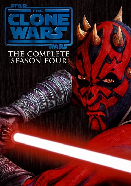 Cover of the Season 4 of Star Wars: The Clone Wars