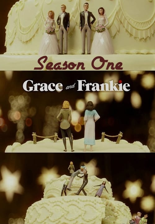 Cover of the Season 1 of Grace and Frankie
