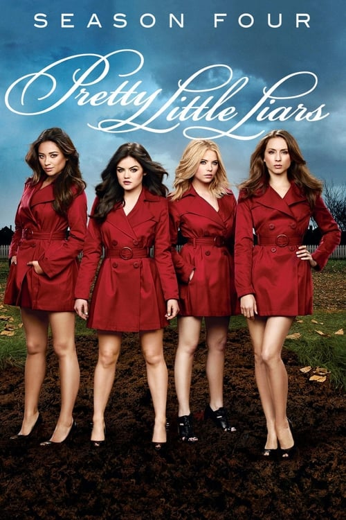 Cover of the Season 4 of Pretty Little Liars