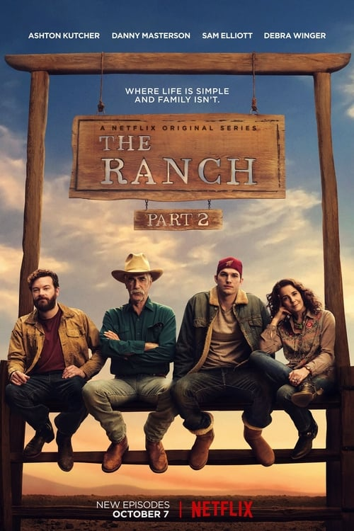 Cover of the Season 2 of The Ranch