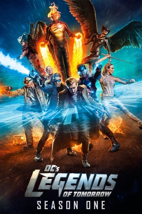 Cover of the Season 1 of DC's Legends of Tomorrow