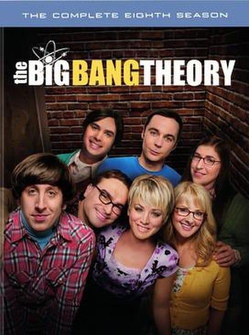 Cover of the Season 8 of The Big Bang Theory