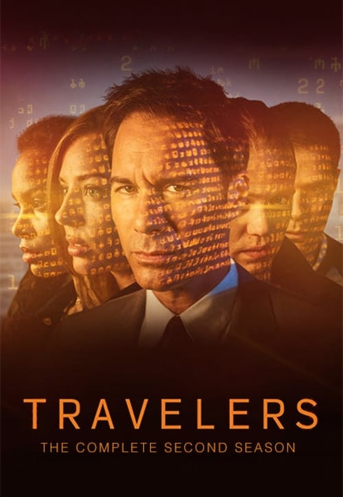 Cover of the Season 2 of Travelers
