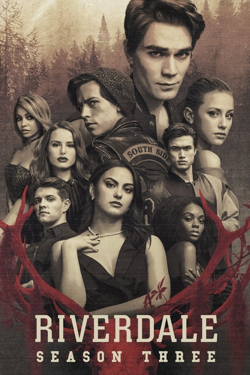 Cover of the Season 3 of Riverdale