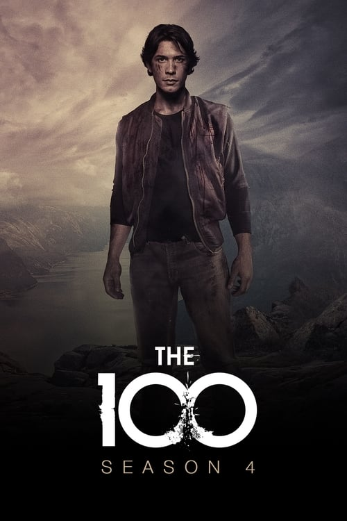 Cover of the Season 4 of The 100