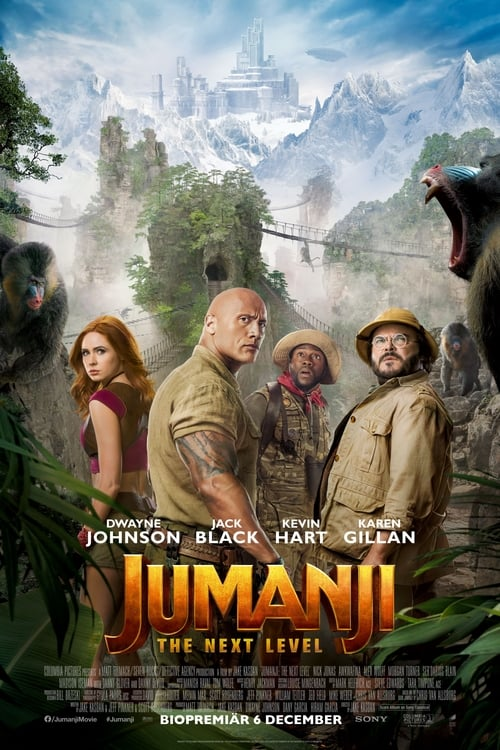 Poster för Jumanji: The Next Level