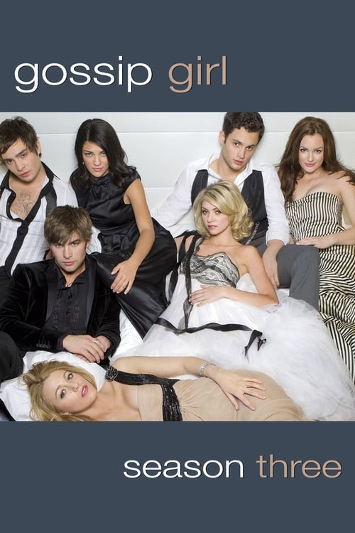 Cover of the Season 3 of Gossip Girl