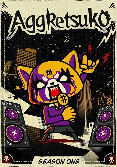 Cover of the Season 1 of Aggretsuko