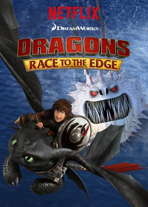 Cover of the Season 5 of Dragons: Race to the Edge