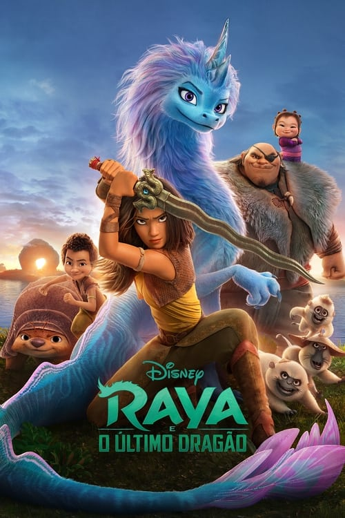 Raya e o Último Dragão 2021 - Dual Áudio 5.1 e Dublado WEB-DL 720p e 1080p FULL HD